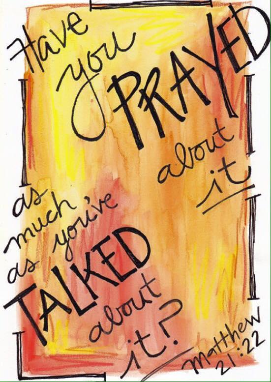 prayer about it